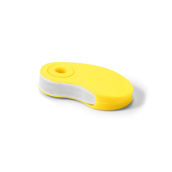 Gomme promotionnelle Opacity jaune - goodies