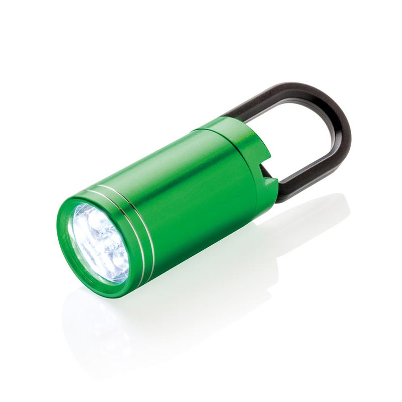 Lampe torche personnalisable LED Pull it - vert