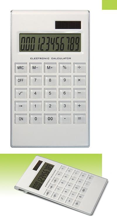 Calculatrice publicitaire Solarama - objet publicitaire écologique