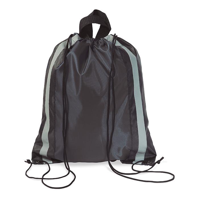 Gymbag publicitaire réfléchissant Glitterbag - objet publicitaire sécurité