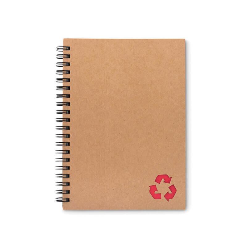 Cahier à spirales 70 feuilles STONEBOOK - Goodies écologique