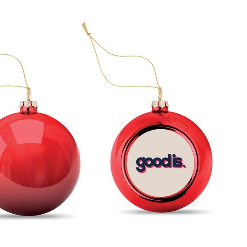 Boule de Noël Happy Ball