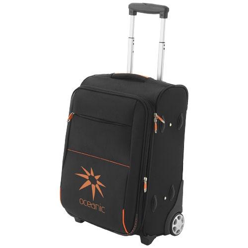 Trolley publicitaire Orange - cadeau publlicitaire