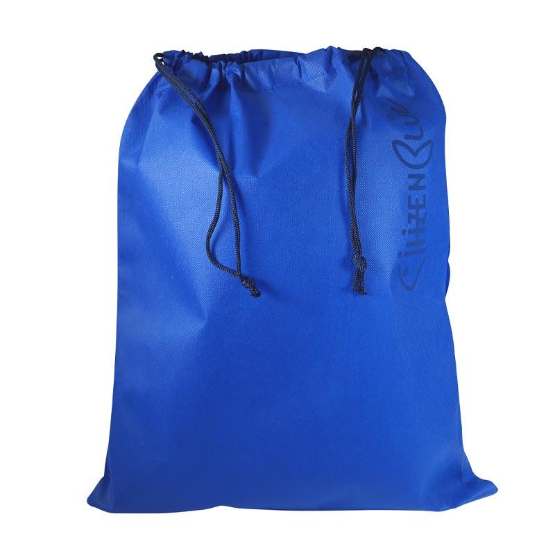 Pochette pour sac à dos publicitaire recyclé CITIZENBLUE