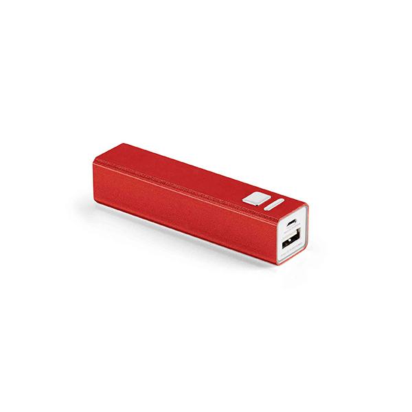 Batterie de secours promotionnelle Pure II rouge - powerbank publicitaire