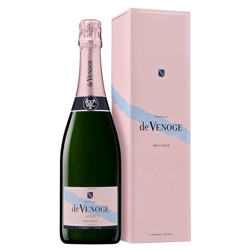 Champagne Cordon Bleu Rosé Brut - cadeau d'affaires