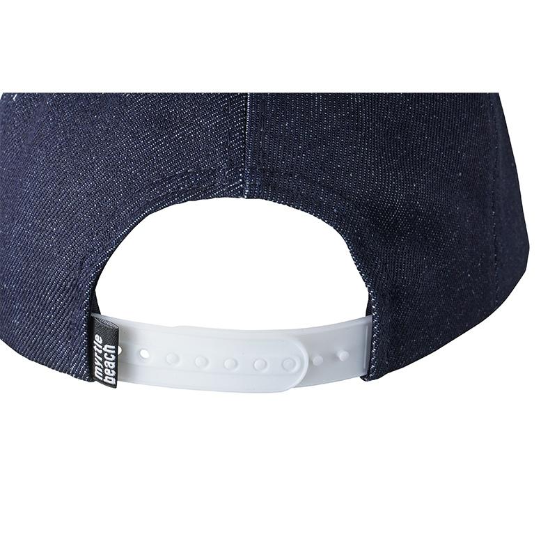 Casquette publicitaire Jeans denim bleu foncé