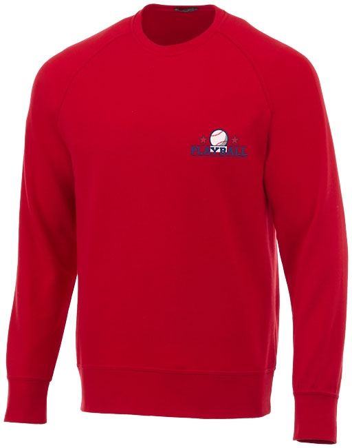 Sweater publicitaire Kruger rouge