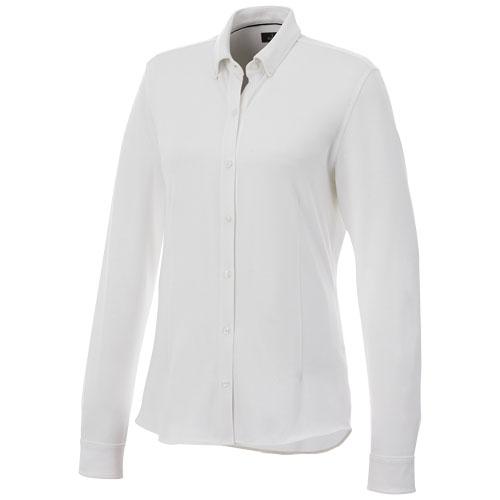 Chemise coton publicitaire pour femmes Bigelow - vêtement de travail personnalisé