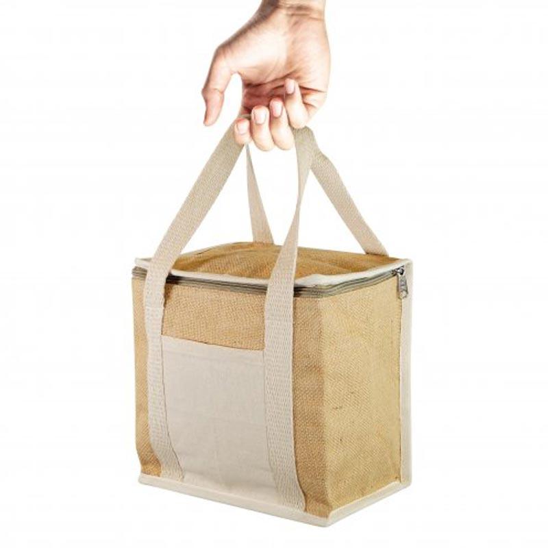 Lunch box publicitaire en jute Naturlunch