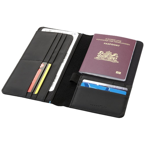 Portefeuille publicitaire RFID Odyssey - objet publicitaire