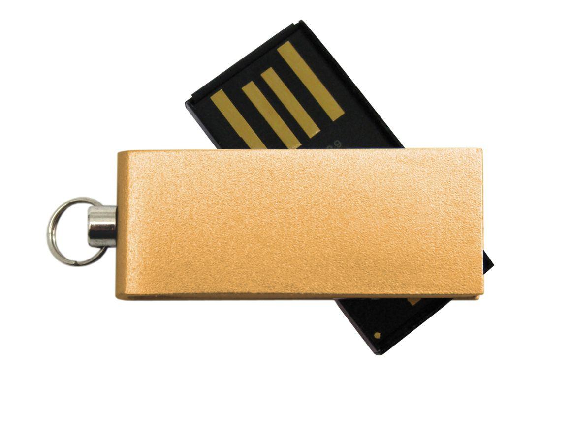 Clé USB publicitaire Twist jaune