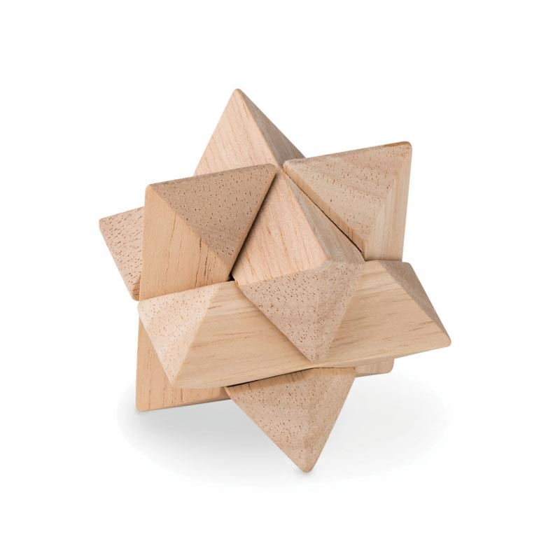 Casse-tête en bois personnalisable Starnats
