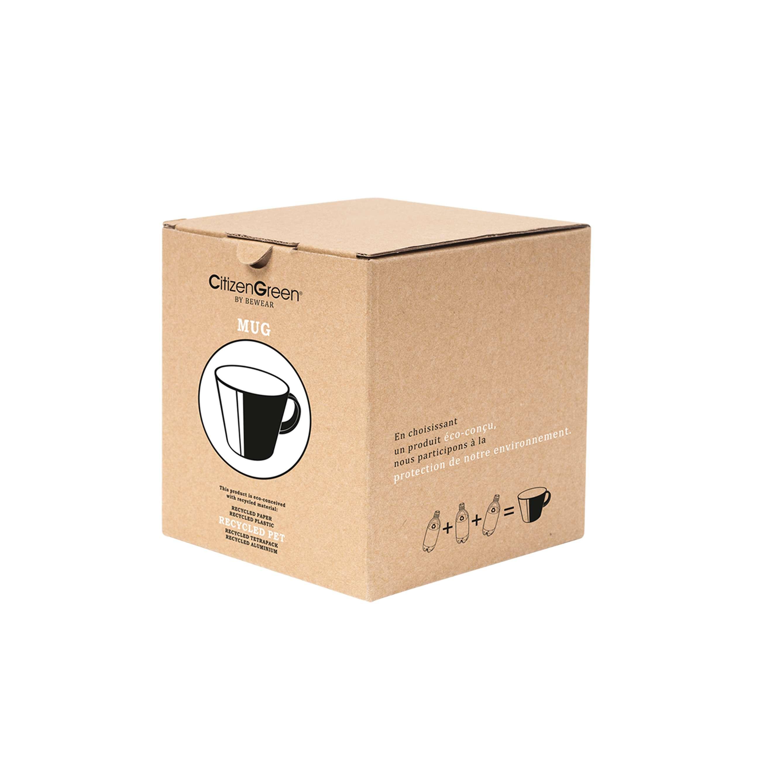 Mug promotionnel écologique Newlifz gris - mug personnalisé