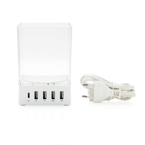 Cadeau d'entreprise - Porte-crayon chargeur personnalisé USB Pennett