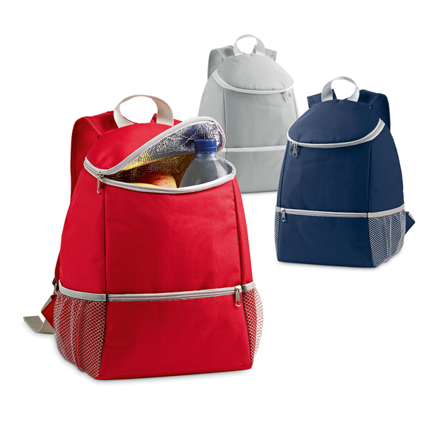 Sac isotherme personnalisable Meal rouge - sac isotherme promotionnel