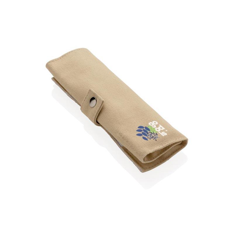 Set de couverts en bambou Picwood avec votre logo