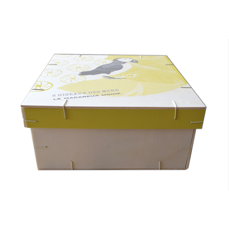 Coffret Aromatique Bois - graines personnalisables - cadeau publicitaire écologique