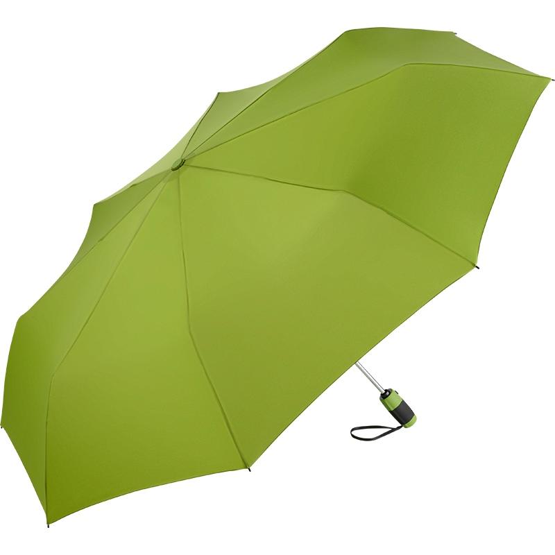 Parapluie publicitaire de poche Double, couleur lime