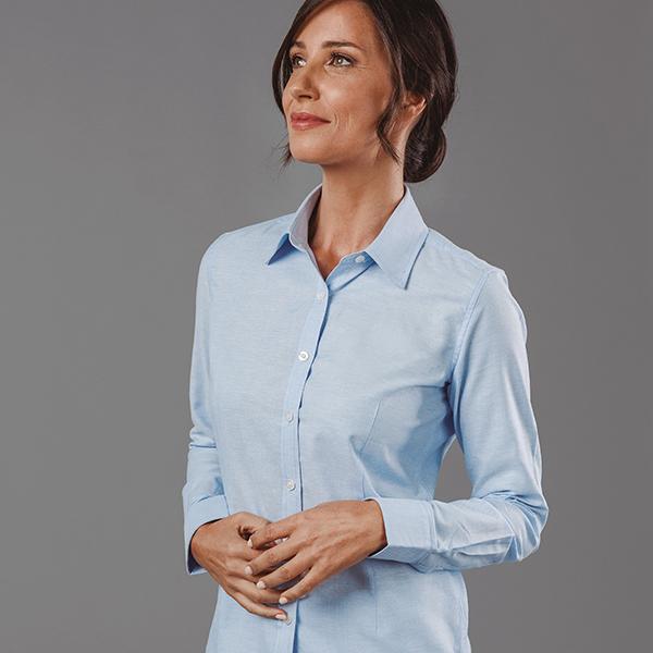 Chemise personnalisable en oxford pour femme Tokyote Women - cadeau d'entreprise