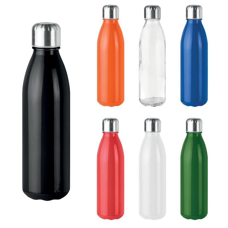 Bouteille personnalisable en verre Aspen