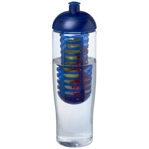 Bouteille de sport promotionnelle et infuseur H2O Tempo® 700 ml avec couvercle dôme
