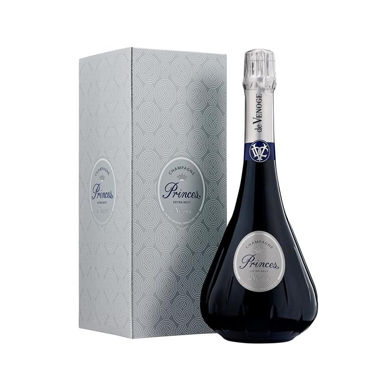 Champagne Prince Extra Brut sous étui - cadeau d'entreprise