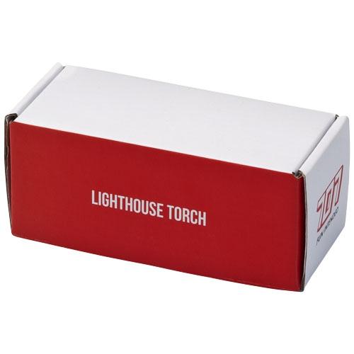 Lampe torche publicitaire 1W Lighthouse en forme de phare - Cadeau publicitaire