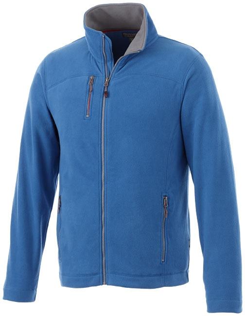 Textile publicitaire - Veste micro-polaire publicitaire homme Pitch - bleu