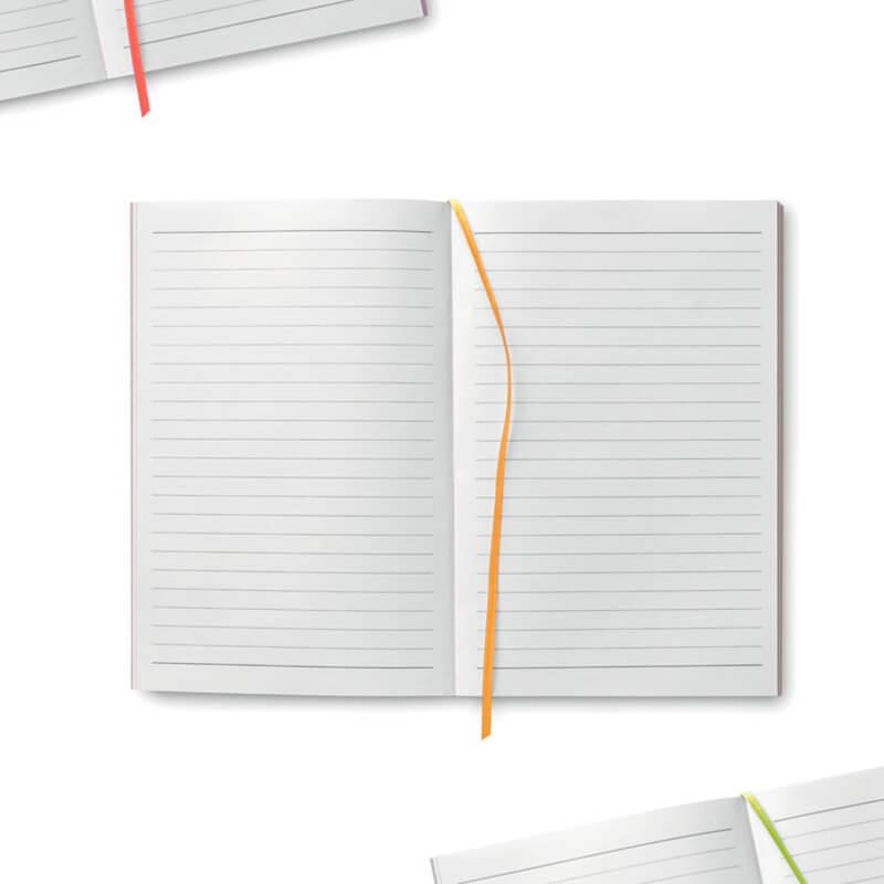 Cadeau publicitaire - Carnet A5 en papier Black Note