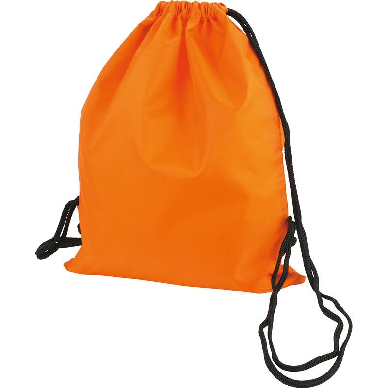 Sac à dos cordon personnalisable Bloofy  - Gym bag publicitaire - jaune