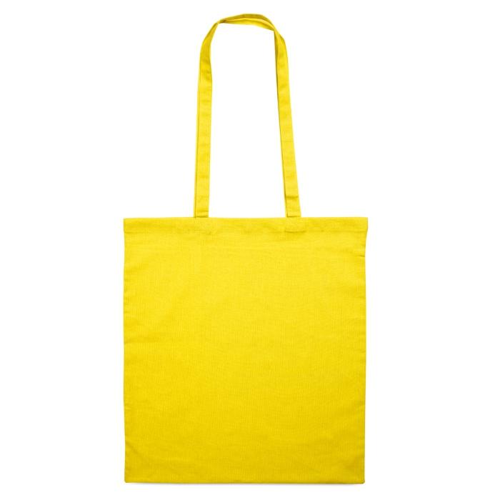 Sac shopping en coton publicitaire 140 g Cottonel + - sac shopping publicitaire aune