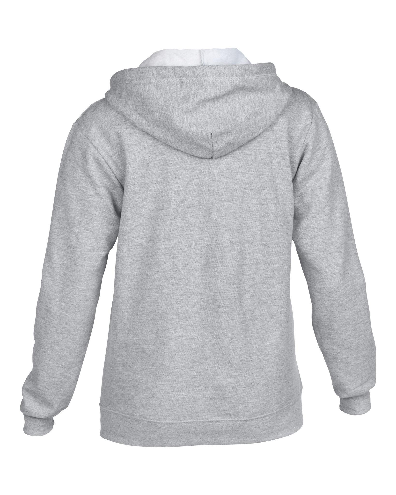 Sweatshirt publicitaire Heavy blendy gris - sweatshirt personnalisable