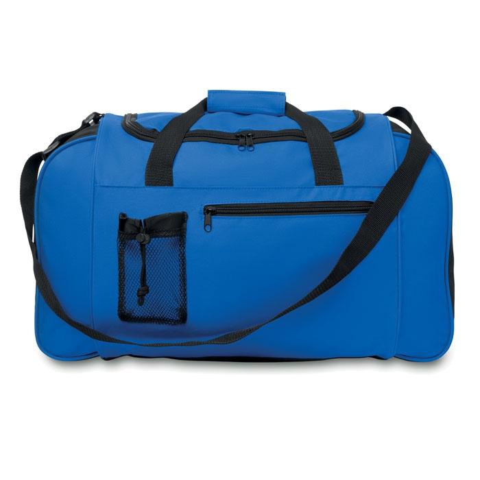 Grand sac de sport publicitaire 600D Parana - Sac de sport rouge