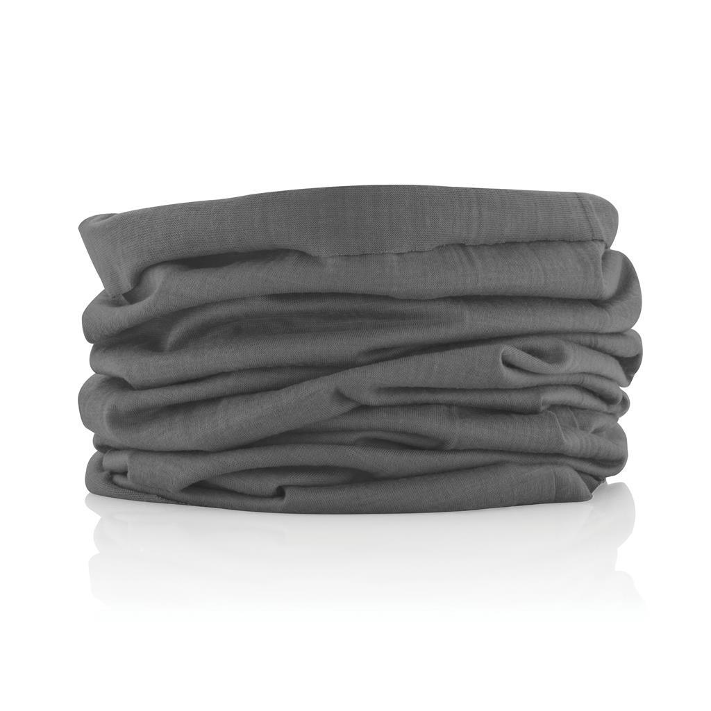 écharpe publicitaire multifonctionnelle gris