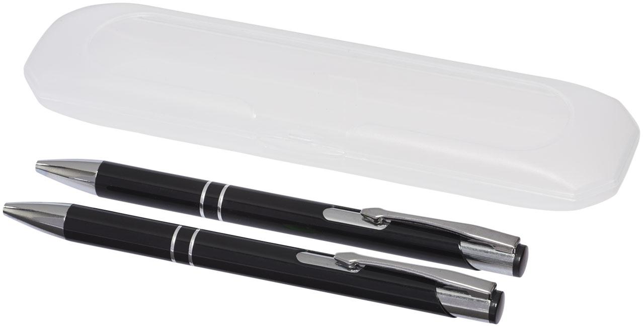 Parure de stylos publicitaires Belfast - parure personnalisable