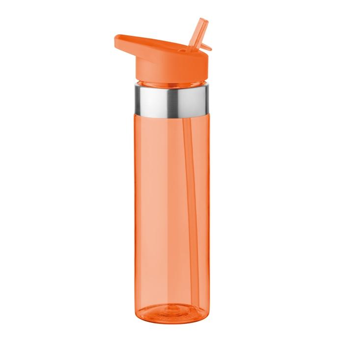 Cadeau publicitaire - Gourde personnalisée en tritan 650ml  Sicilia - orange