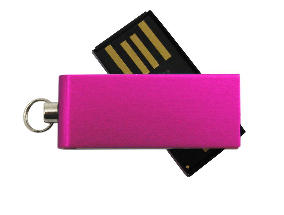 Clé USB publicitaire Twist rose