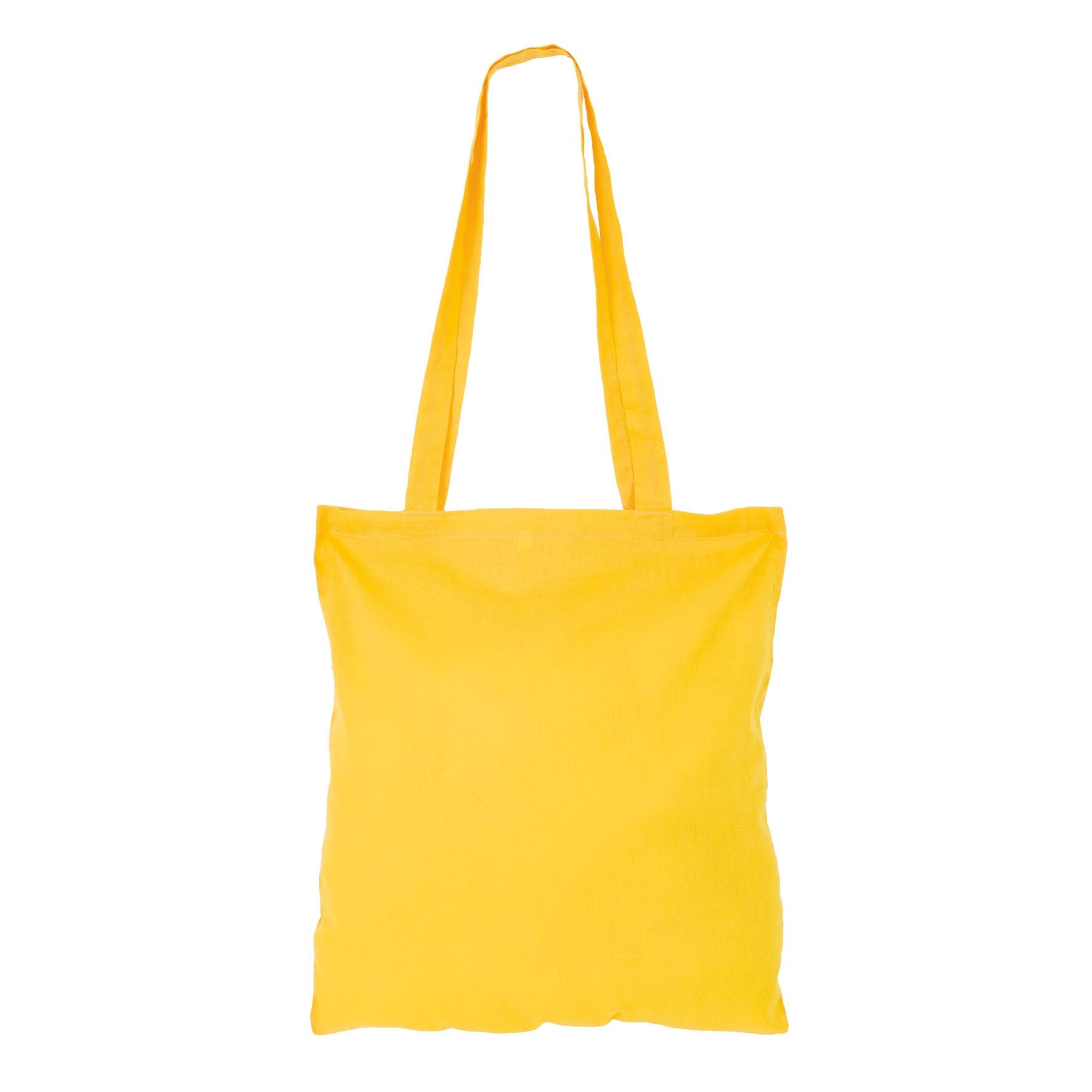 Sac shopping publicitaire coton Maria - sac shopping personnalisable - noir