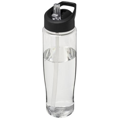 Gourde de sport publicitaire H2O Tempo® 700 ml avec couvercle à bec verseur