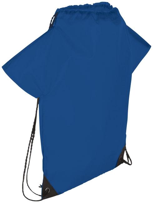 Sac à dos publicitaire T-Shirt bleu