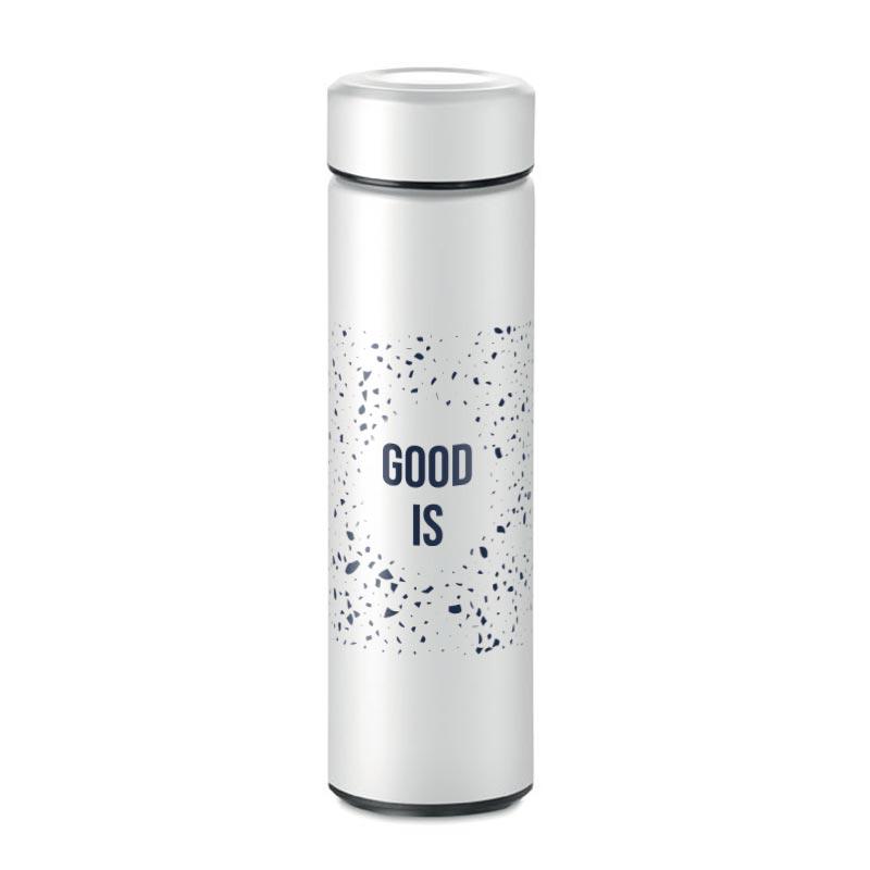 bouteille isotherme publicitaire Patagonia - coloris blanc