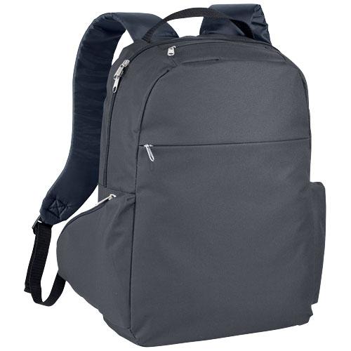 cadeau entreprise - sac à dos publicitaire pour ordinateur Arthon gris
