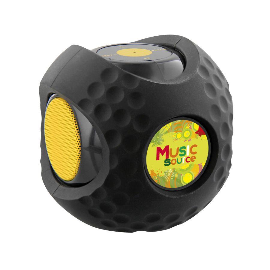 Boule haut-parleur publicitaire Bluetooth®  - cadeau d'entreprise high-tech