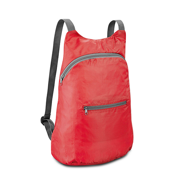 Sac à dos publicitaire Jumpy rouge  - sac à dos personnalisable