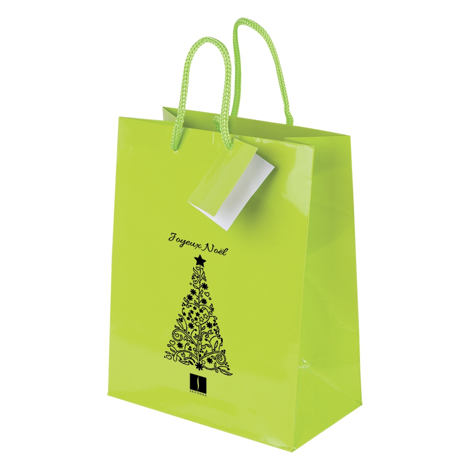 Sac shopping personnalisable Shiny - sac shopping publicitaire