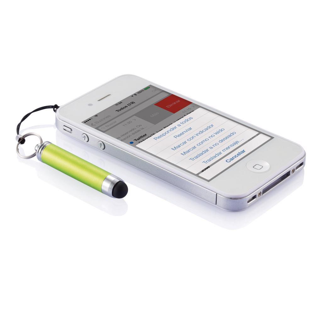 Porte-clés stylo-stylet publicitaire Arios - Objet personnalisé