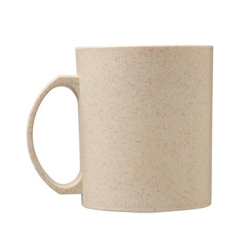 Mug personnalisable réutilisable en fibres de paille de blé Pécos