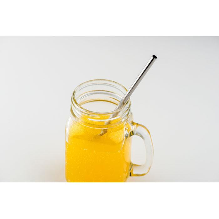 goodies écologique - paille réutilisable personnalisable en acier Cold Straw