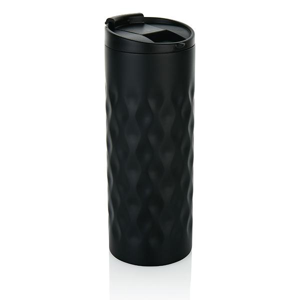 Gobelet publicitaire Pattern - gobelet personnalisable noir